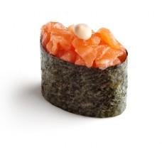Lõhe ja terav kaste Kimchi